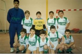 Benxamíns Fútbol Sala 1991-92