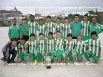 Infantís Campións de Liga 2013-14 e ascenso directo a primeira