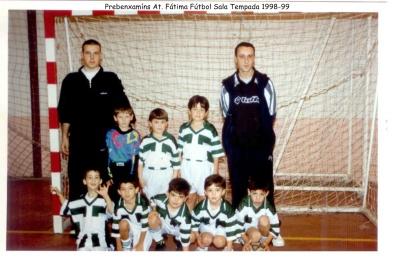 Prebenxamíns Fútbol Sala 1998-99