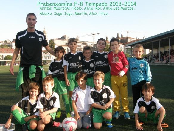 Prebenxamíns F8 Temporada 2013-14