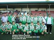 O Atlético Fátima Xuvenil finalista da Copa de Santiago 2012-2013