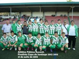 atlético Fátima finalista