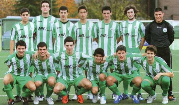 Xuvenís Galega 2012-2013
