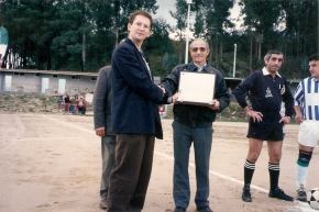 Placa conmemorativa 1992-93