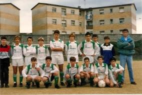 Infantís no antigo campo de Cancelas 1992-93