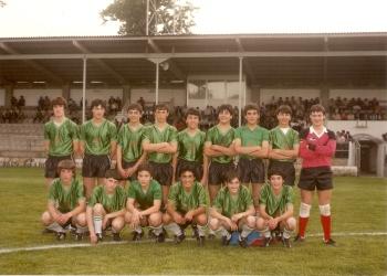 Subcampeóns Galegos Infantís 1985-86