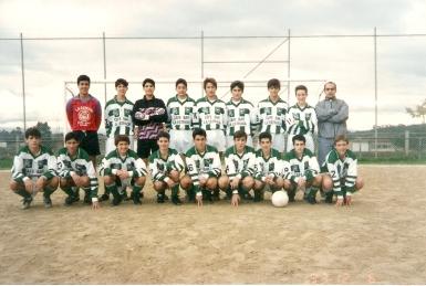 Cadetes Campións de Liga e Copa 1993-94