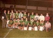 Campións da Copa Infantil 1985-86