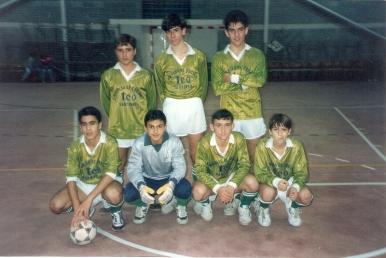 Cadetes Fútbol Sala 1991-92