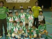 Prebenxamíns Campións de Liga e Subcampións de Copa 2006-2007