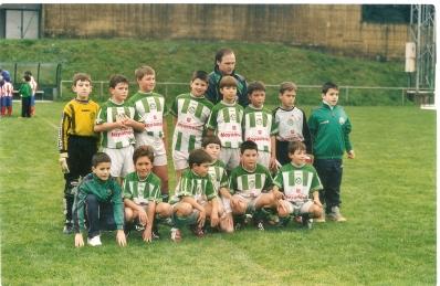 Benxamíns Campións de Liga 2003-2004