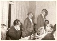 Acto de entrega do trofeo á deportividade na temporada 1978-79