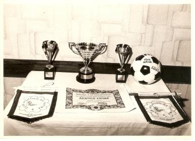 Trofeo Pardo Mourelle á deportividade na primeira temporada 1978-79
