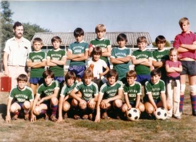O primeiro equipo alevín