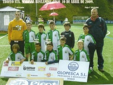 Benxamíns no Trofeo da Mariña Vigo 2009