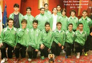 CADETES  - Trofeo Deportividade 2012-2013
