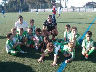 Biberóns Campións do VIII Torneo San Miguel de Deiro