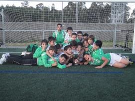 Infantís Castiñeiriño E.F. terceiros VIII Torneo Abanqueiro S.D.