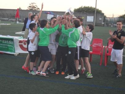 Infantís Castiñeiriño Terceiros no VIII Torneo Abanqueiro