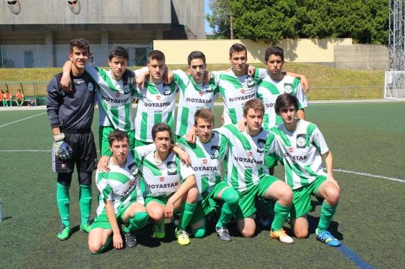 O Atlético Fátima Xuvenil Subcampión da Copa de Santiago 2014